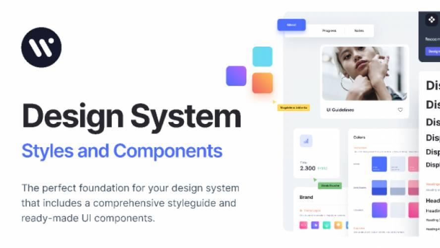 Figma Webpixels Design System (Free)