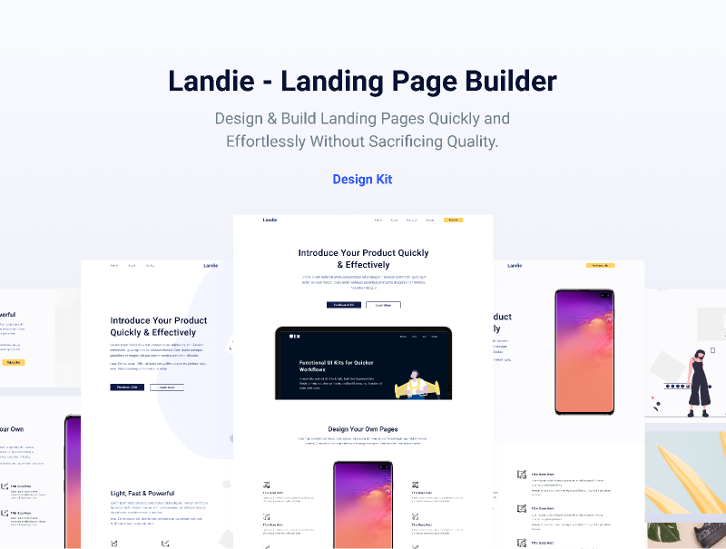 Figma Website Template Landing