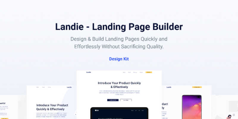 Figma Website Template Landing
