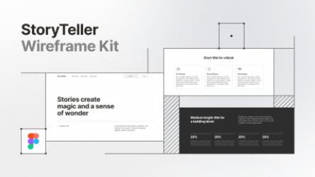 Figma Wireframe Kit Demo