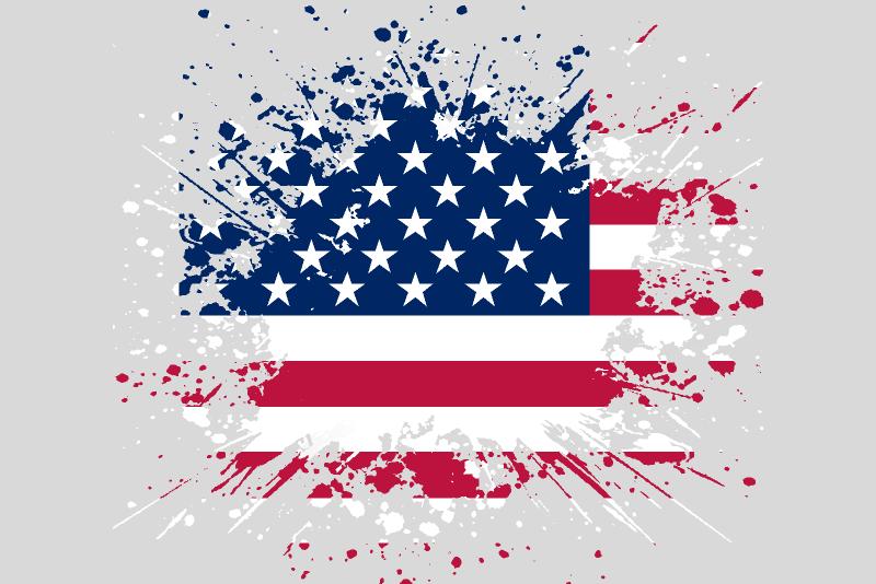Flag America Figma template