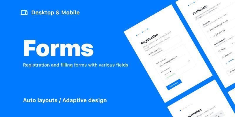 Forms  /  Desktop & Mobile figma