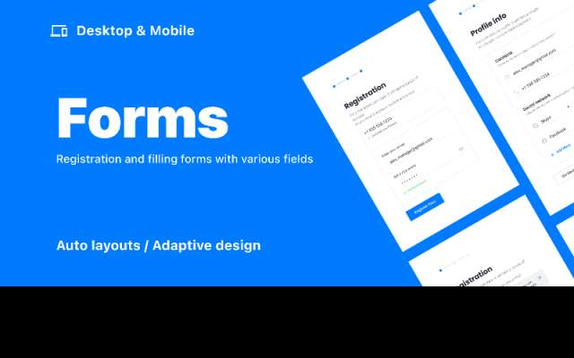 Forms  /  Desktop & Mobile figma