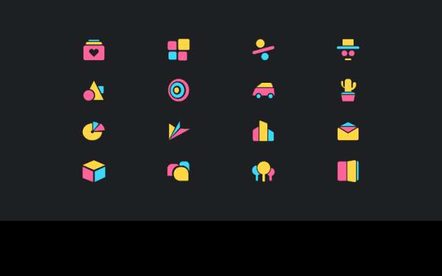 Free Abstract Geometric Icons figma