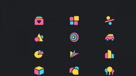 Free Abstract Geometric Icons figma