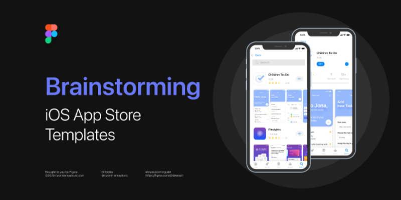 Free download Brainstorming App Store Templates
