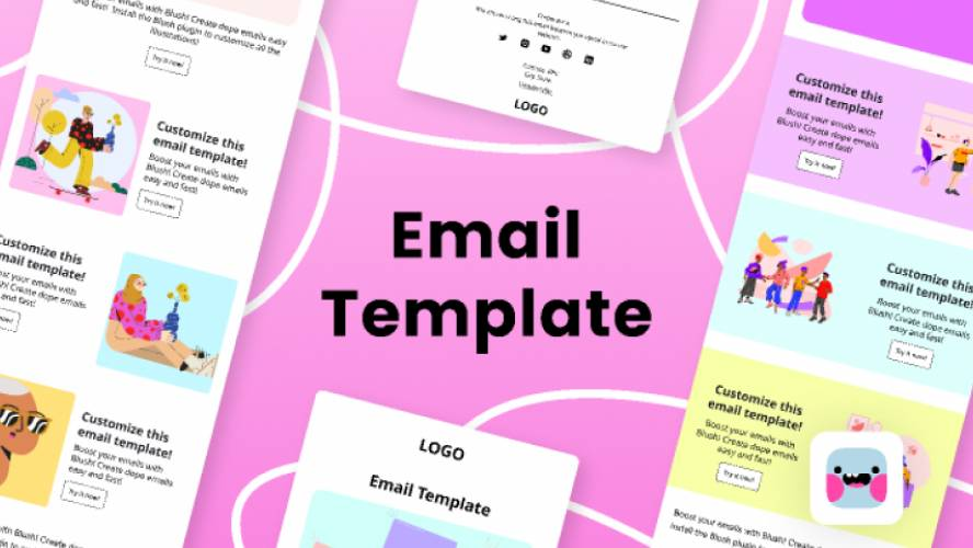Free Email Templates figma