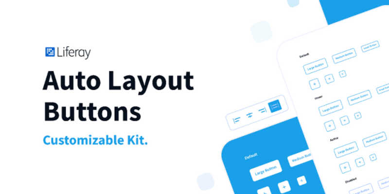 Free Figma Auto Layout Buttons – Kit