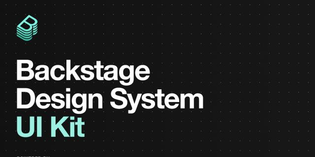 Free figma Backstage Design System