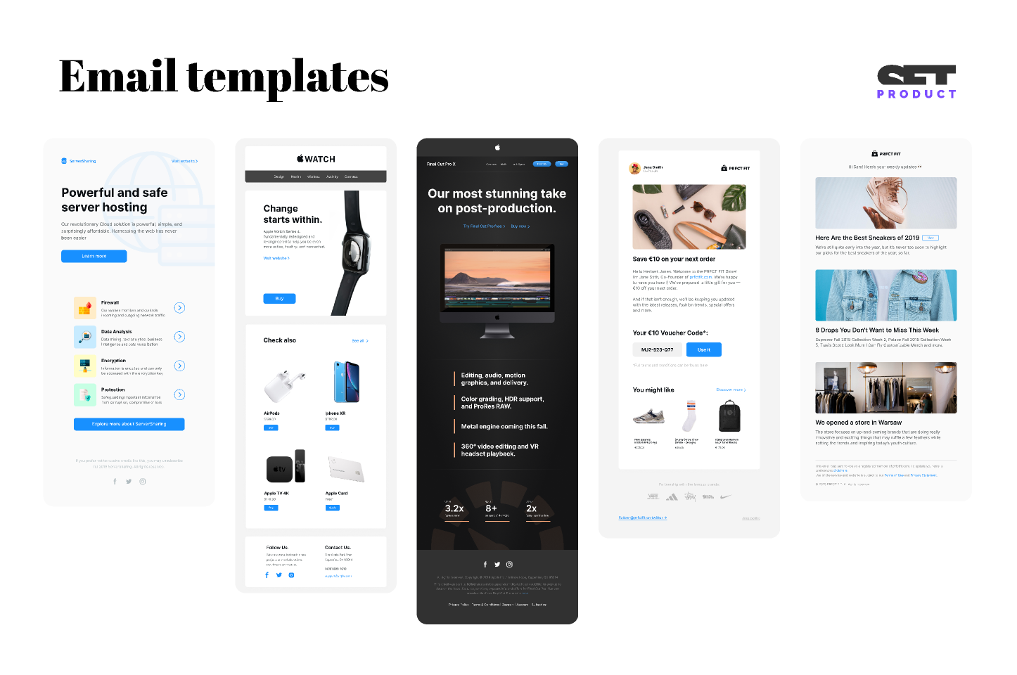 Free figma Email Templates