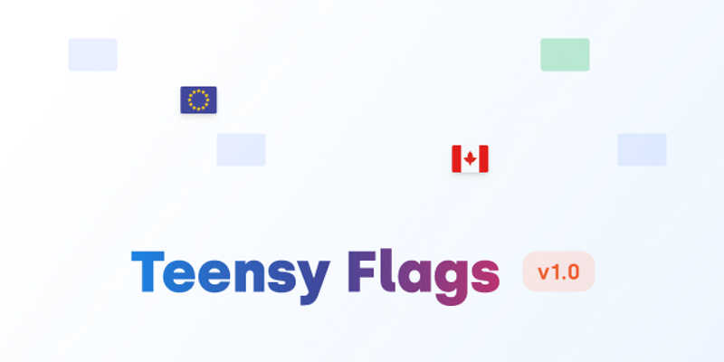 Free Figma Flags (Teensy)