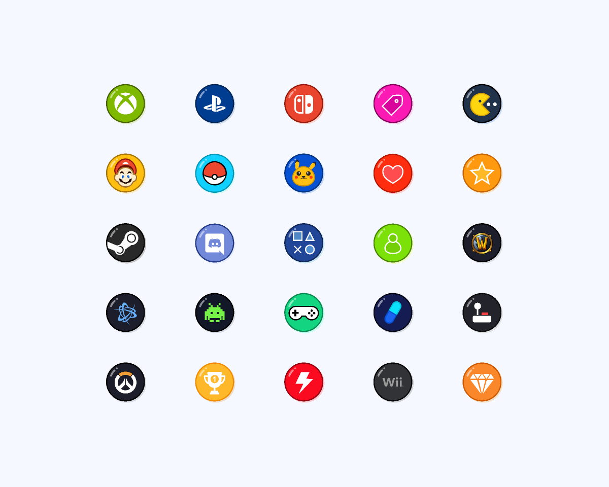 Free figma game icons