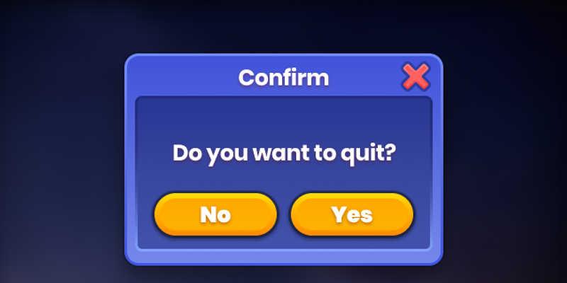 Free figma Game UI (Game Dialog)
