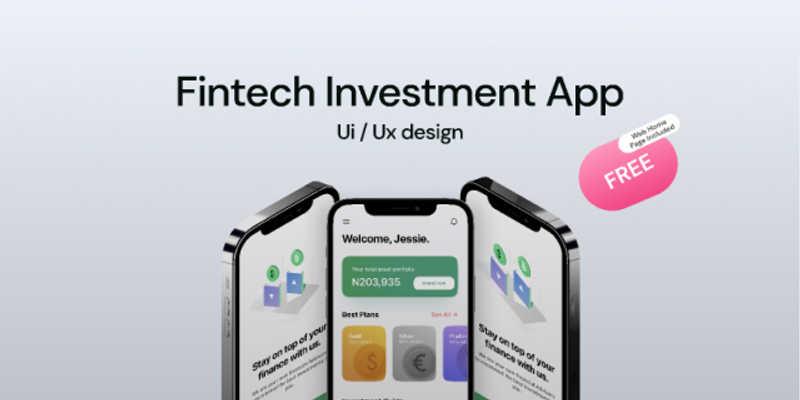 Free Figma Invest App App design