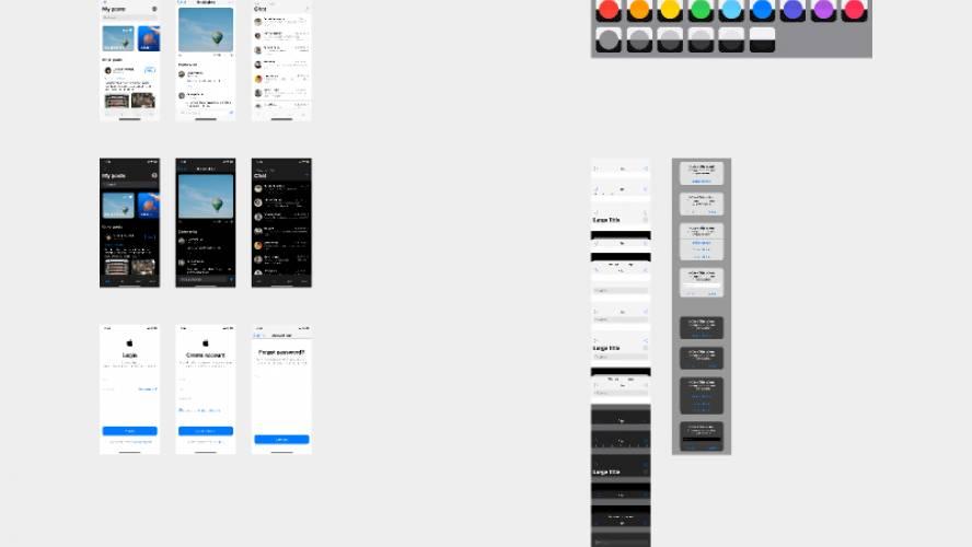 Free Figma iOS UI Kit – iOS 13 Template