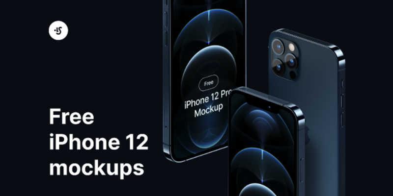 Free iPhone 12 Pro Mockup (Figma)