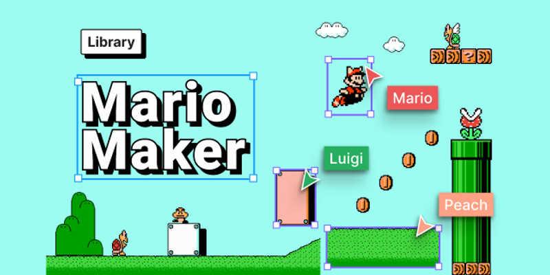 Free Mario Game Ui (Figma template)