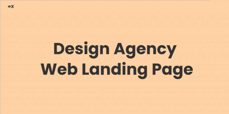 Freebie Figma Agency Web Landing Page