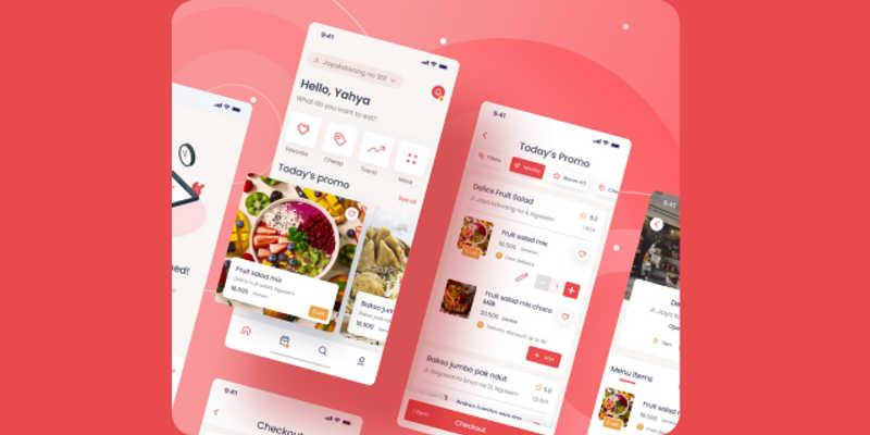 Freebie Figma Fooder UI Kit