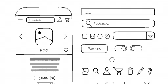 Freebie Figma Handmade Wireframe Kit