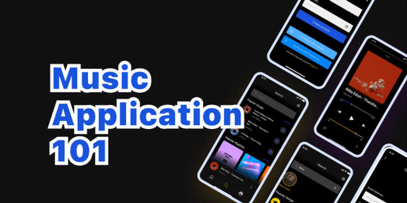 Freebie Figma Music App UI Design