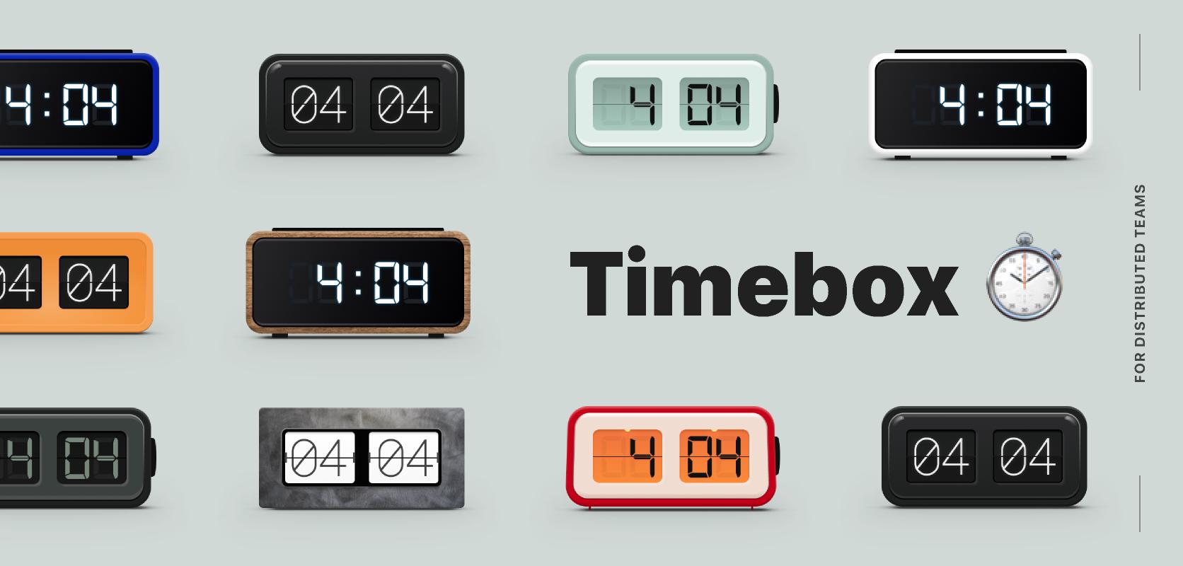 Freebie figma Timebox template