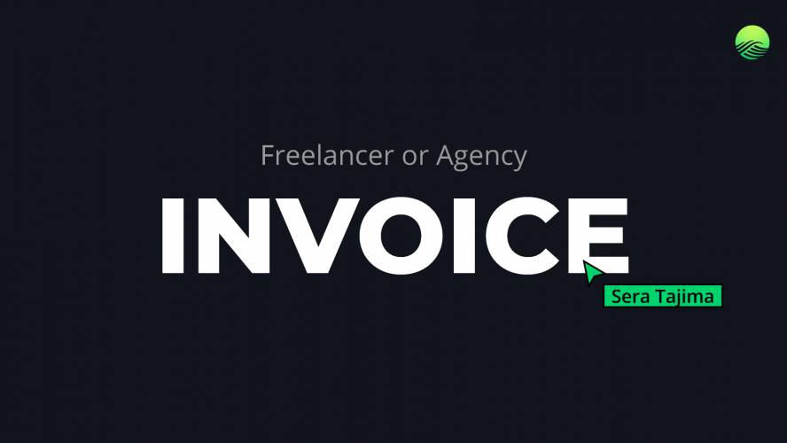 Freelance or Agency Invoice Template Figma Free Download