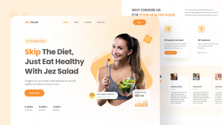 Fruit Salad Health Food