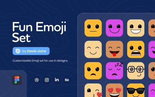Fun Emoji Set Figma