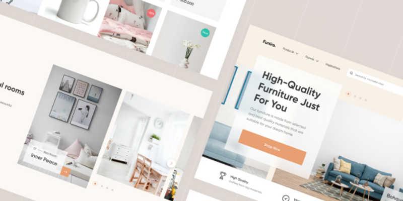 Furniture Shop - Freebie