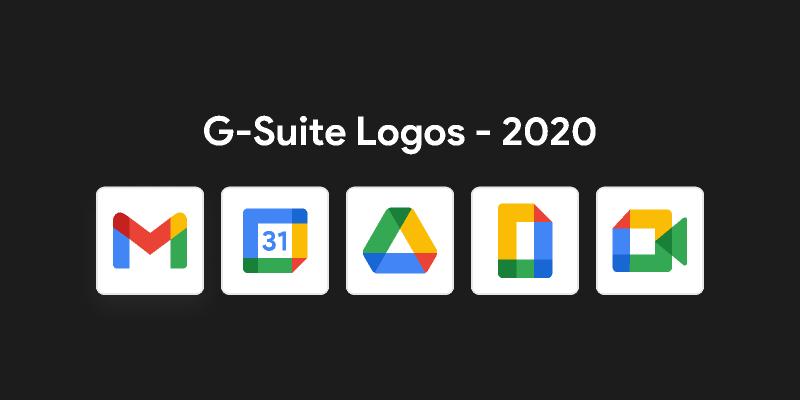 G-Suite 2020 Logos