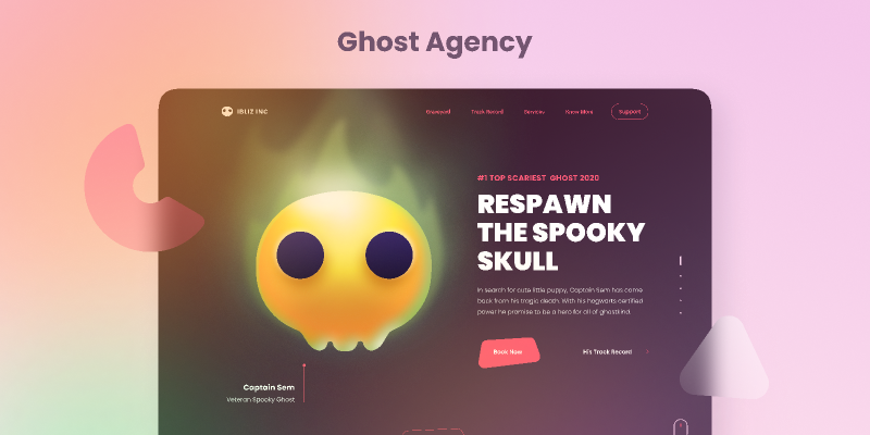 Ghost Agency - Ghost Illustration Kit Figma