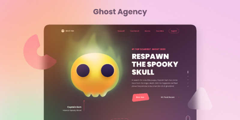 Ghost Agency - Ghost Illustration Kit Figma