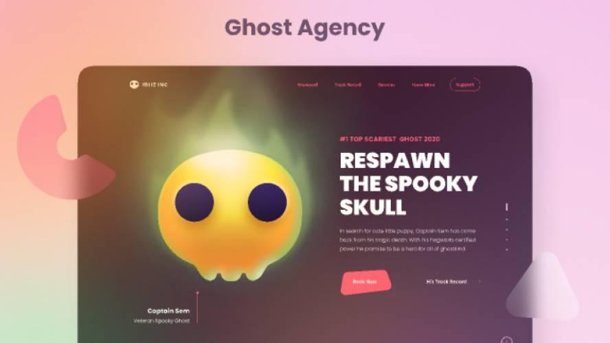 Ghost Agency - Ghost Illustration Kit