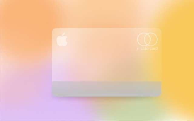 Glassmorphic Apple Card Figma