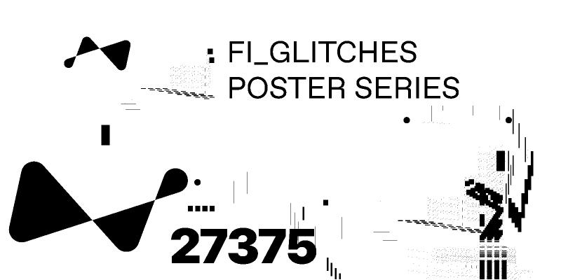 Glitch Poster Series