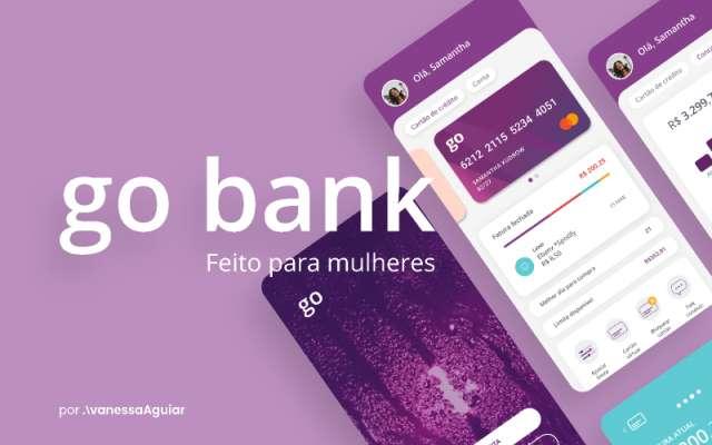 Go bank app figma