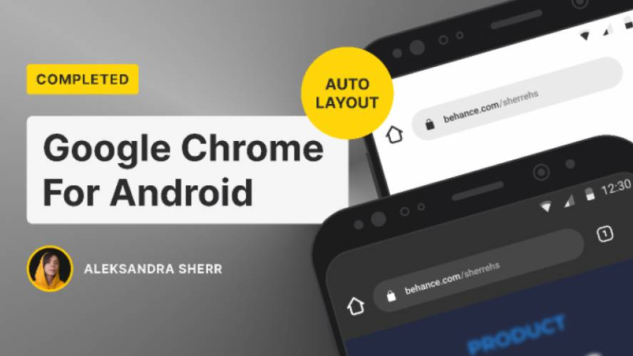 Google Chrome For Android figma