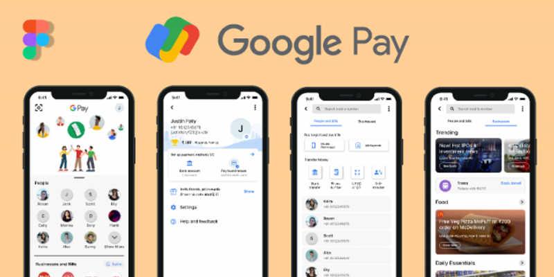 Google Pay figma