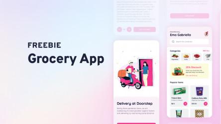 Grocery App Figma Design