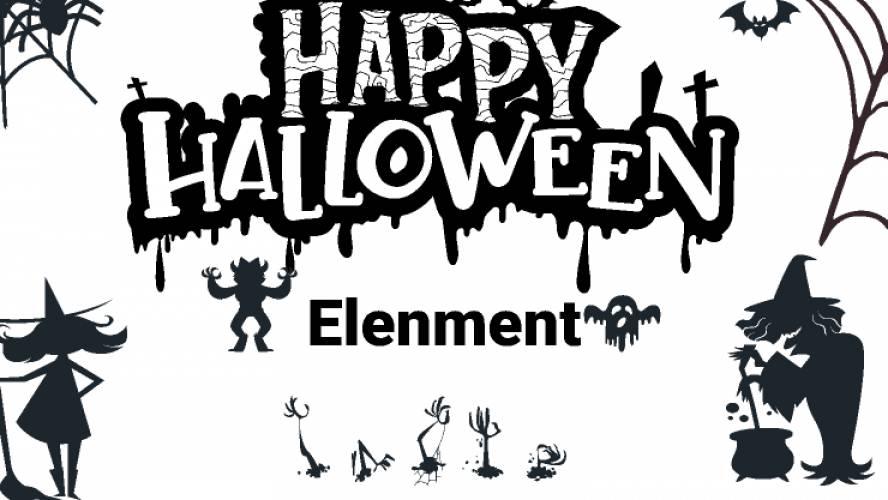 Halloween Element Figma Free