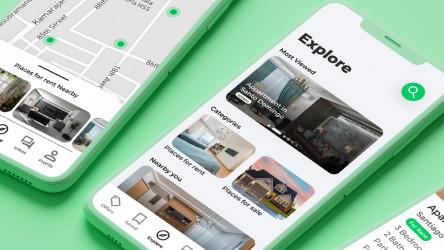 House Marketplace App UI/UX Figma Design