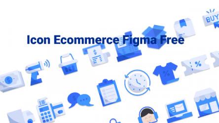 Icon Ecommerce Figma Free