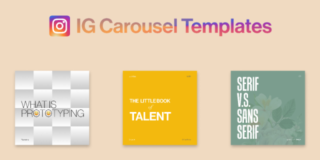IG/Instagram Carousel Template