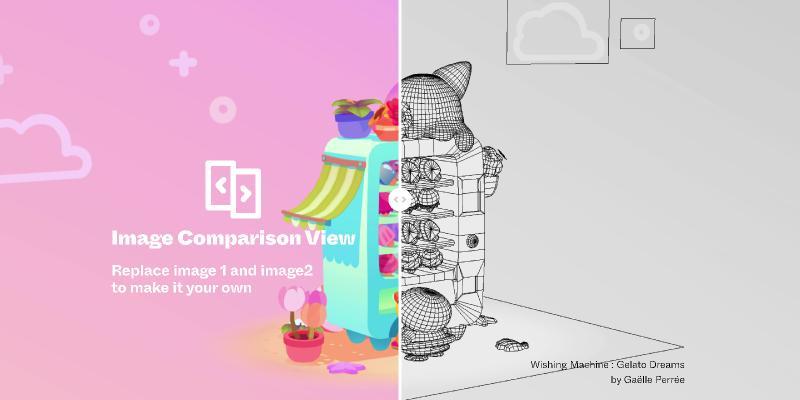 Image Comparison View figma