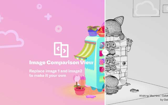 Image Comparison View figma