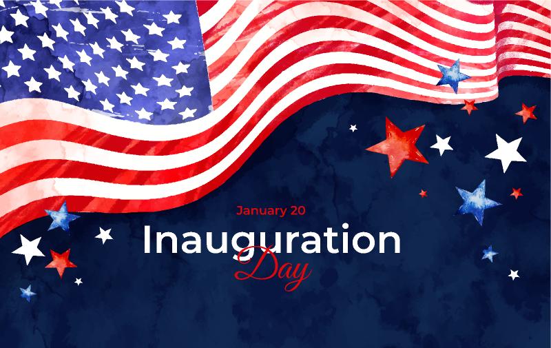 Inauguration America Figma template