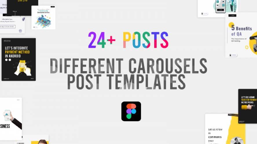 Instagram  Carousel Template