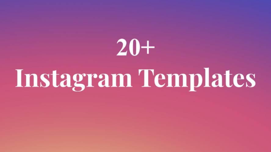 Instagram Post Figma Template