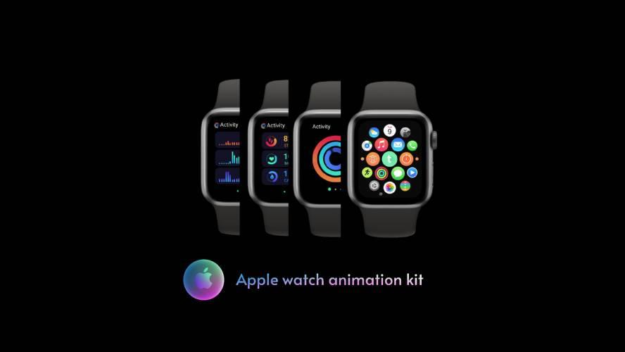 Interaction Design : Apple watch Figma Template